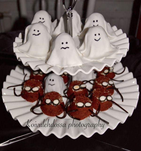 Halloween-tunnelmia