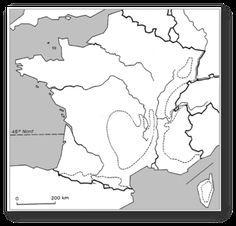 Carte de France vierge - Le blog des rusés