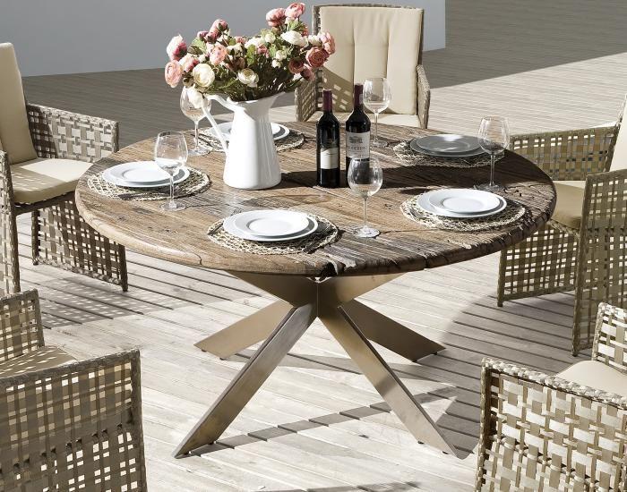 1000 ideas about gartentisch rund holz on pinterest. Black Bedroom Furniture Sets. Home Design Ideas