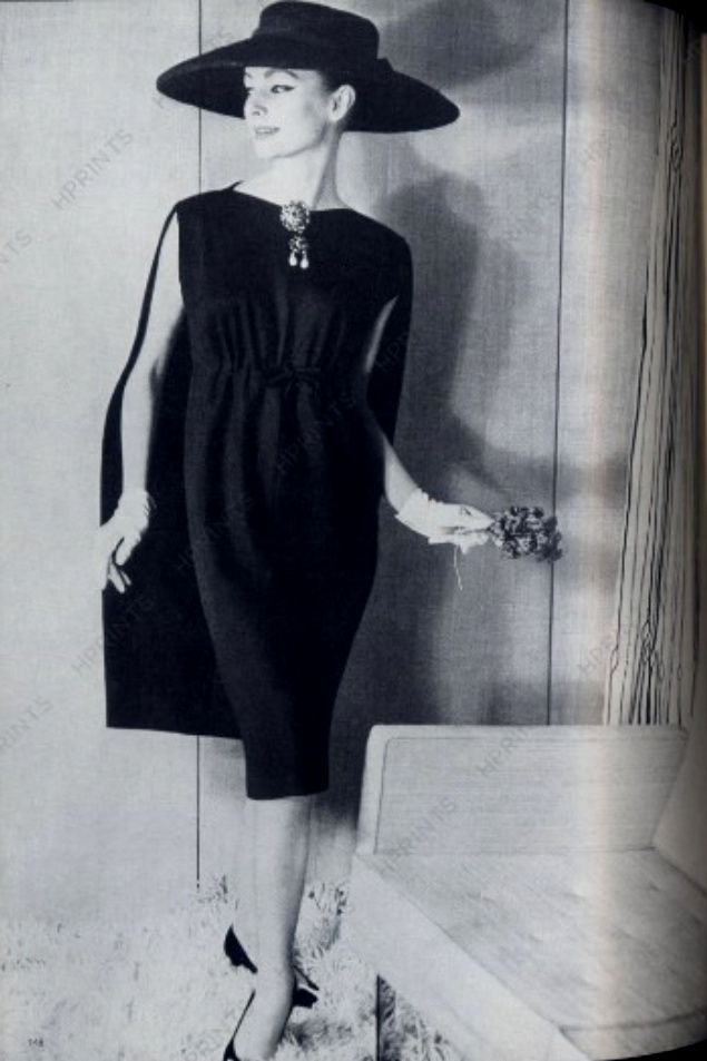 Cristóbal Balenciaga for Vogue UK, 1958