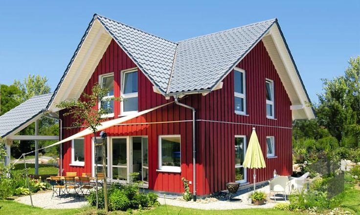 56 besten schwedenh user skandinavisch wohnen bilder auf for Skandinavisches holzhaus fertighaus