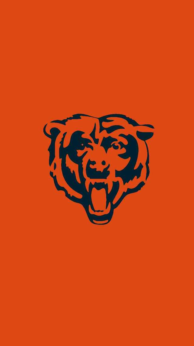 Minimalistic Nfl Backgrounds Nfc North Chicago Bears Wallpaper Chicago Bears Pictures Chicago Bears Logo