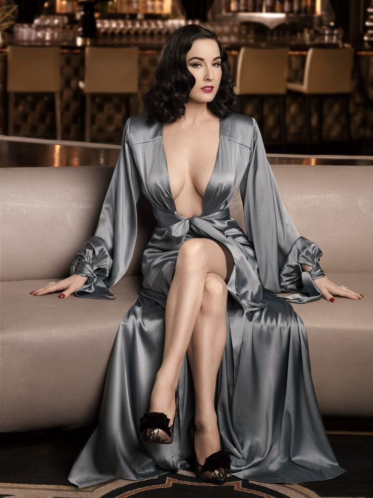 """I advocate glamour. Every day. Every minute.""  Dita Von Teese"