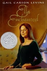 Reading and Discussing Ella Enchanted by Gail Carson Levine - topics and questions for teching