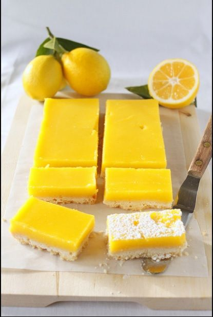 Super easy way to make mayer lemon bars, hmmm yummy you have to make it