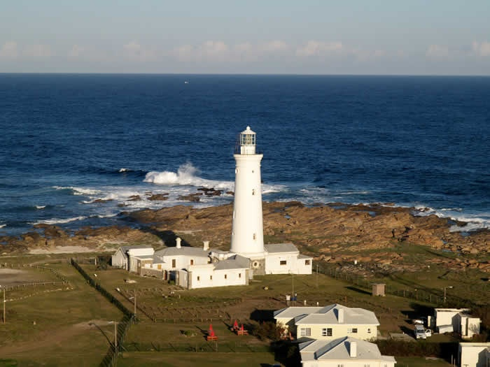 Lighthouses of South Africa.  Seal Point Lighthouse at St Francis Bay.  Google Image Result for http://www.sandalsguesthouse.co.za/file/seal_point_lighthouse.jpg