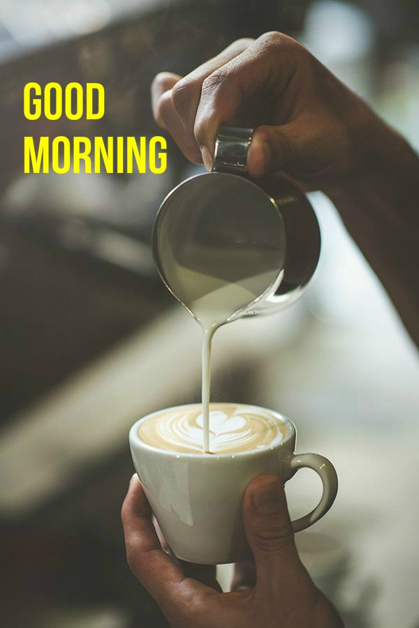 good morning perfect cappuccino