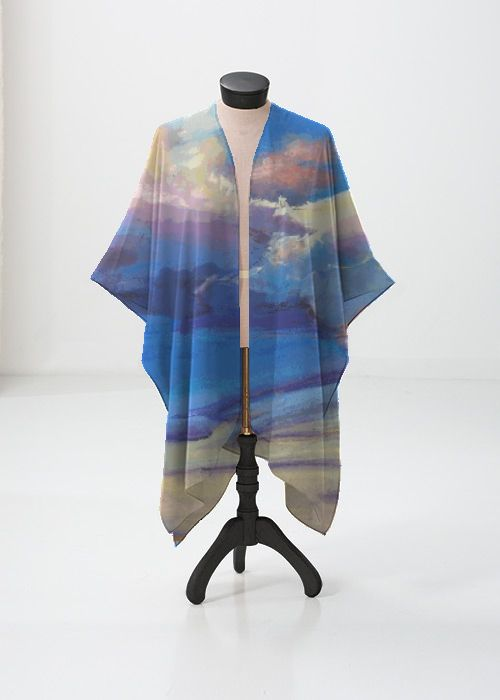 Cashmere Silk Scarf - INTUITION 6 by VIDA VIDA TKvhctzUk