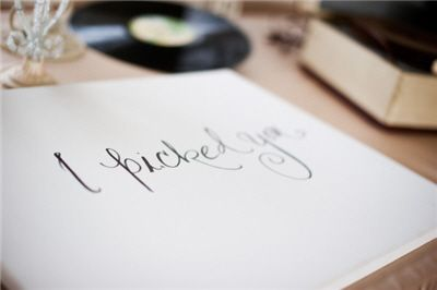 10 Things To Do On The Day Of Your Wedding .. definitely doing the love letter :)