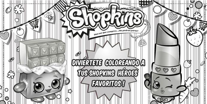 ¡Diviértete coloreando a tus Shopkins Héroes favoritos!
