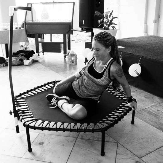 78+ Images About Rebounder/mini Trampoline On Pinterest