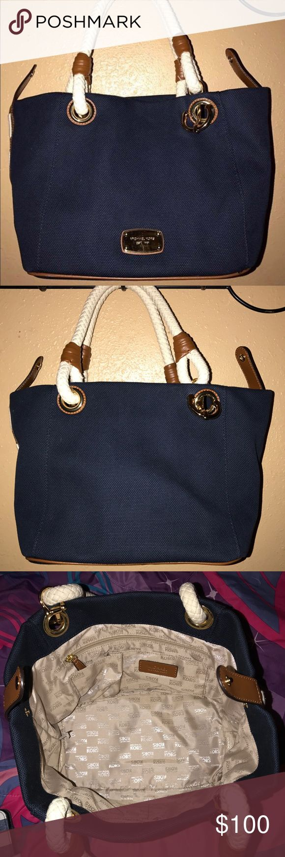 Michael Kors Marina Michael Kors Marina navy tote bag. New with tags! Michael Kors Bags Totes