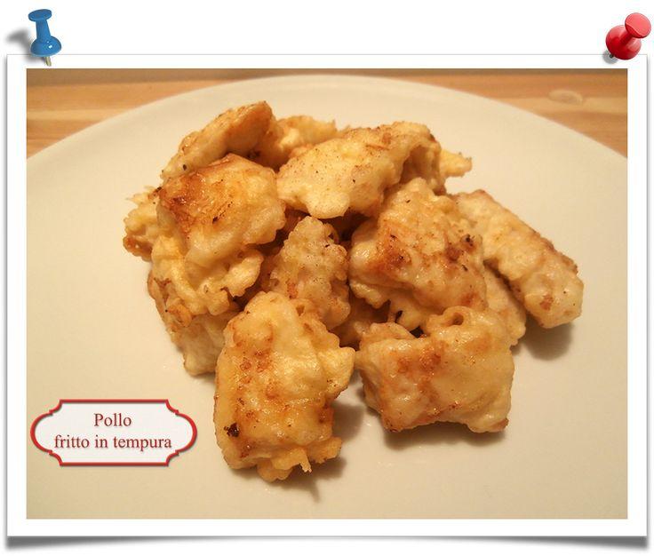 Imparare l 39 arte della cucina quotidiana tempura di pollo - Imparare l arte della cucina francese ...