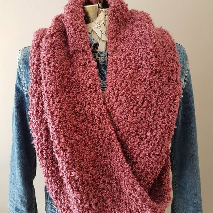 Twisted knit cowl. $20