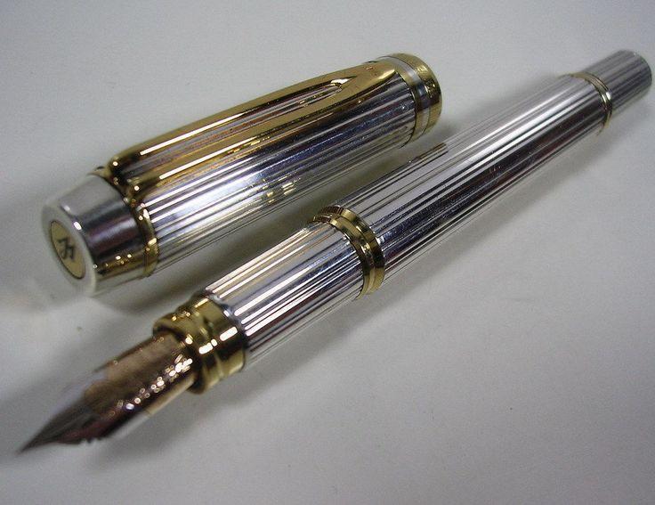 stylo plume jaune waterman