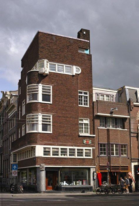 C. Kruyswijk, Keizersgracht hoek Vijzelstraat, Amsterdam 1927