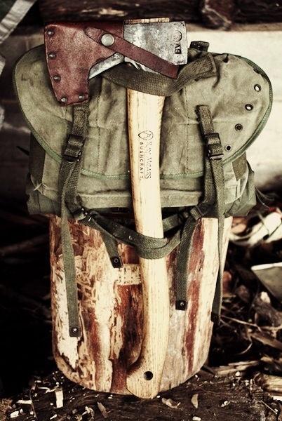 Great #axe carrying setup.