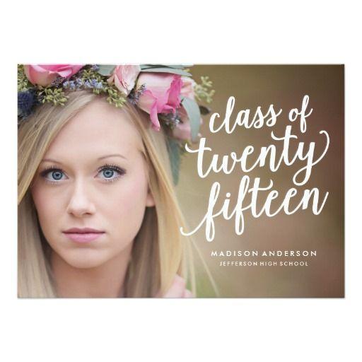 Pretty Boho | Graduation Invitation - Photography courtesy of @kristacampbell  www.kristacampbellphotogtraphy.com  #graduation
