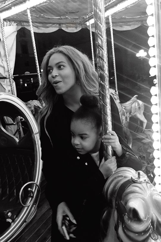 Beyonce & Blue Ivy In Italy May 2015
