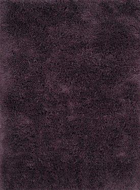 deep purple shag area rug for your retro home decor
