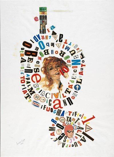 Michele Perfetti - Senza titolo, 1968. Mart, Archivio Tullia Denza www.mart.tn.it/collezioni