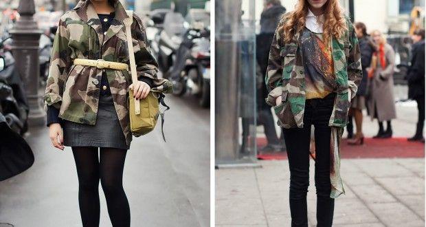 Kamuflaj baskılı kıyafetler nasıl giyilir | Kadinveblog