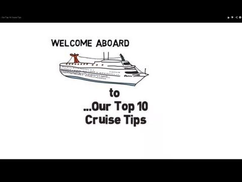 Our Top 10 #Cruise #Travel Tips Watch the #video here