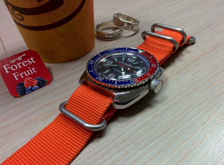 Bezel Vostok Amphibian Watches Stainless Steel With Seiko ...
