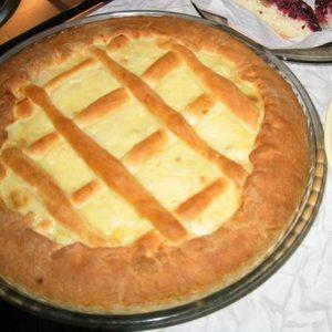 Сдобный пирог с творогом пасхальные рецепты