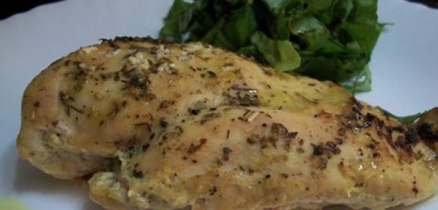 Συνταγές : Κοτόπουλο λεμονάτο με φέτα και ρίγανη