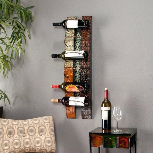 Decorative Wall Mounted Wine Racks Blvd Rack
