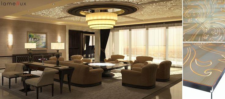 LAMELLUX Plafond rétro-éclairé en Vibrato (spécial) LxResin et Sycomore Sinot Exclusive Yacht Design   #lamellux #vibrato #lxresin #sycomore #sycamore #luxe #yacht #yachtdesign #plafond #backlit #madeinfrance #ebenisterie #architecture #architecturedinterieur #agencement #craftmanship #luxury #design #interior #interiordesign #woodwork #bespoke