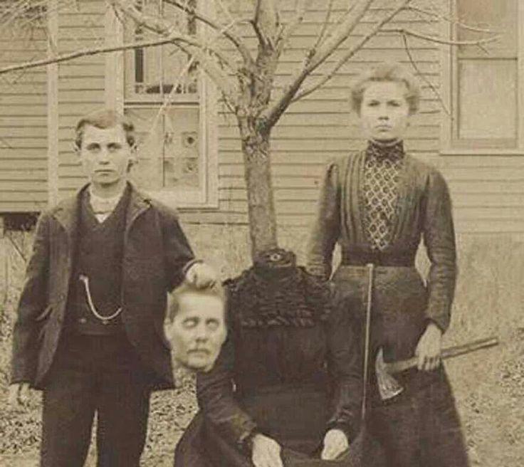 Very weird photograph...