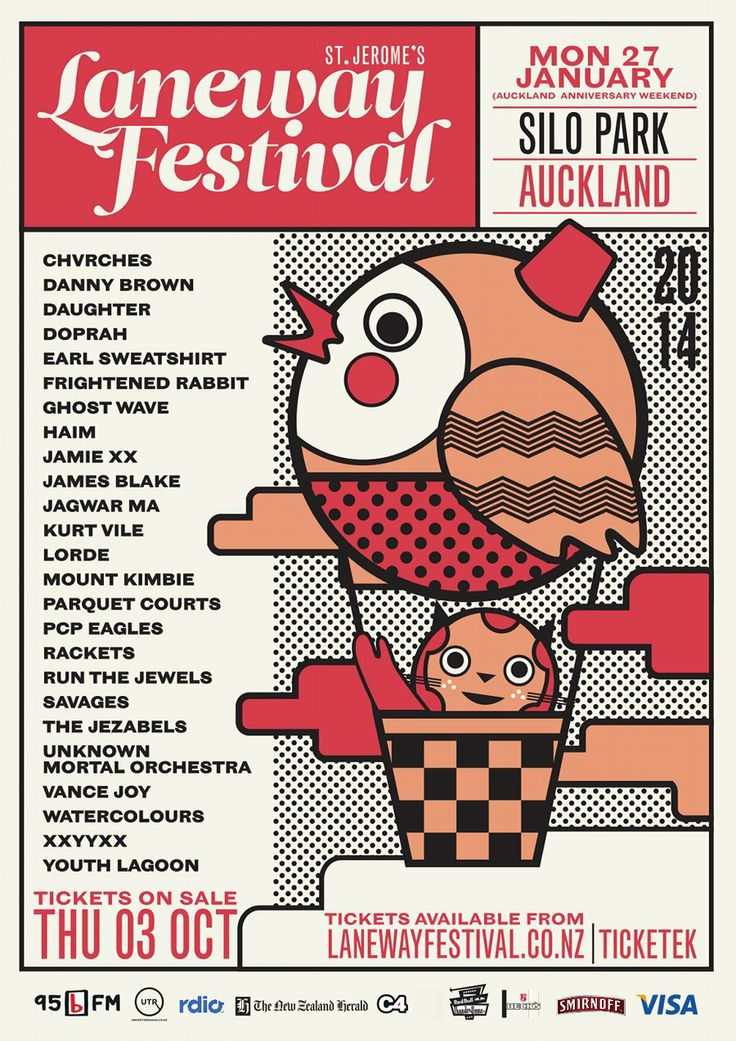 Laneway Festival 2014