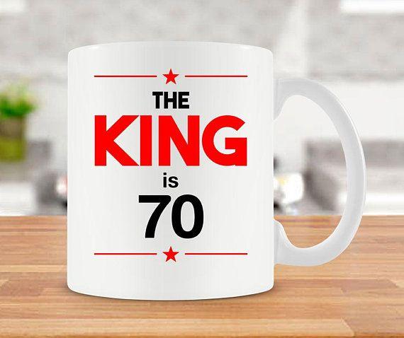 Funny Birthday Gift Ideas For Him 70th Mug Bday