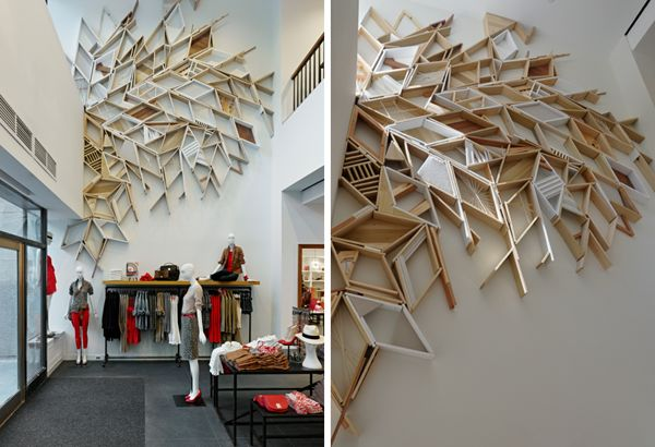 J Crew - Permanent Retail Installation by Christopher Bettig, via Behance