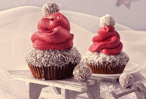 Cupcakes Gorro de Nieve