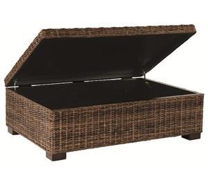 Nebraska Furniture Mart Bernhardt Rattan Coffee Table Trunk