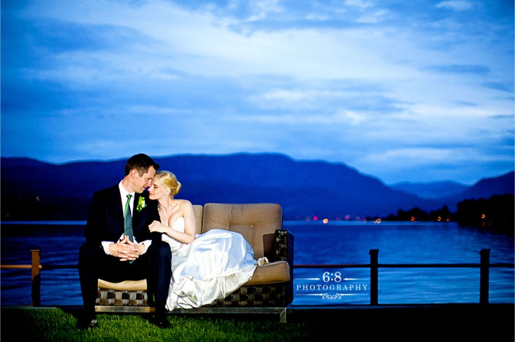 Right on the water in Kelowna - a great venue! http://68photography.ca/2011/05/tishajames/