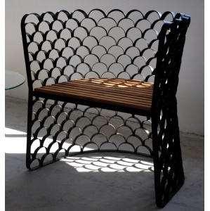 Good Jarrod Lim Koi Chair   Koi Takes The Simple Repetitive Form Of A Fish Scale  And Turns It Into Both Its Aesthetic And Structure. Nice Design