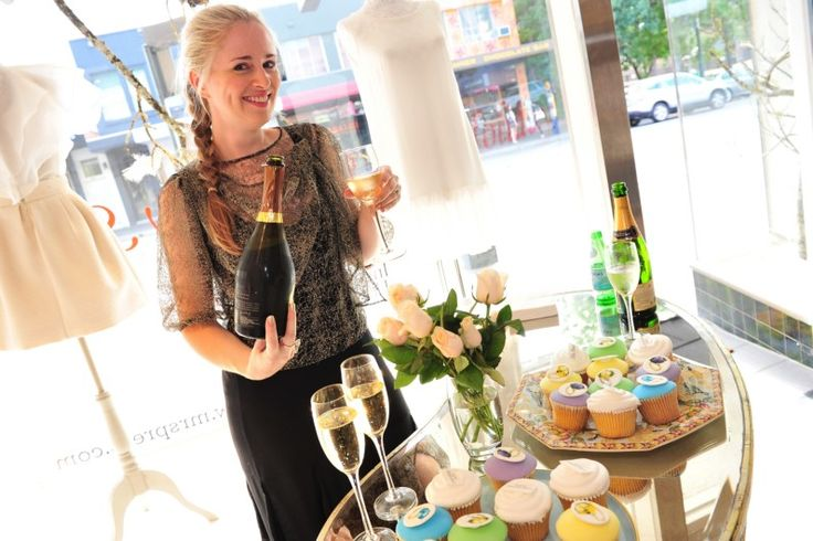 from our Mrs Press VIP event, Clare Press looking lovely.