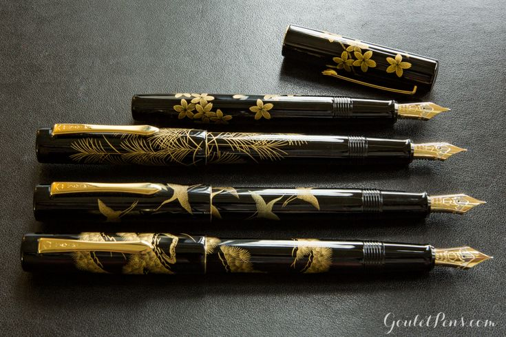 Part of the stunning Namiki Maki-e collection, Namiki Chinkin fountain pens are striking because of their unique design and the complex techniques used to create them. Learn more in this informative blog! Pin to read later.