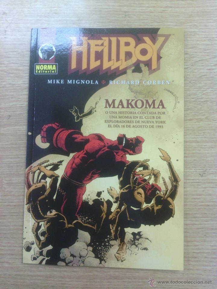 HELLBOY MAKOMA $5.5