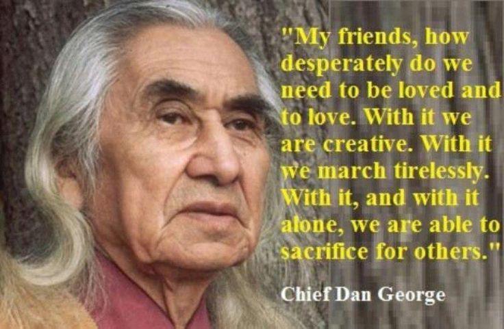 yo-native.com | Chief Dan George 1899 - 1981