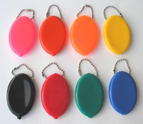 coin purse keychain ~ i used to carry my milk money in one of these...   :)