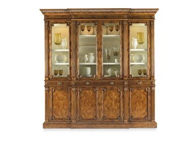 Shop For Hickory White Duomo China With Wood Doors And Other Dining Room Cabinets At Furniture Mart In NC