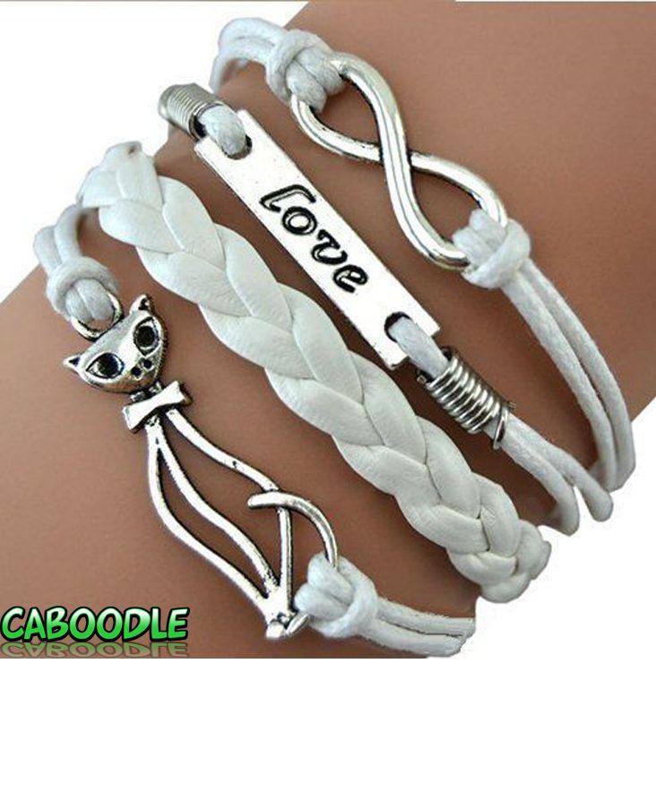 Infinity Love Cat Bracelet - Caboodle