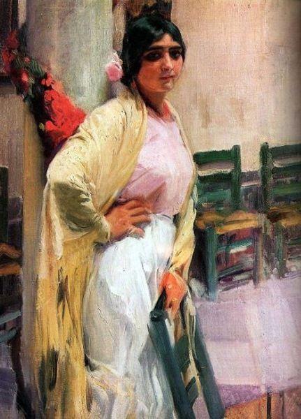 María La Guapa - Joaquín Sorolla