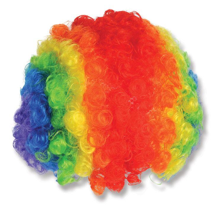 Rainbow Clown Wig, 94608