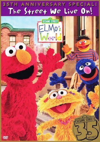 Sesame Street: Elmo's World - The Street We Live On! 35th Anniversary Special [DVD]